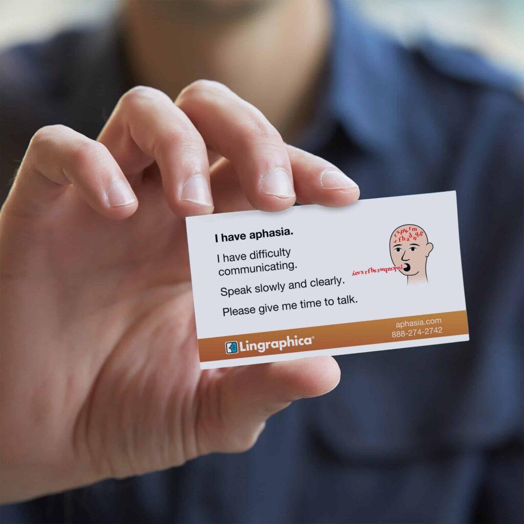 Free Aphasia ID Card